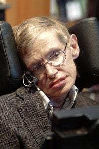 Stephen Hawking in un'immagine degli ultimi anni