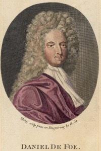 Daniel Defoe (1660 - 1731) scrittore e giornalista, è considerato il padre del giornalismo inglese.