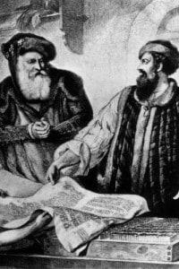 Johannes Gutenberg: pioniere nell'invenzione della stampa