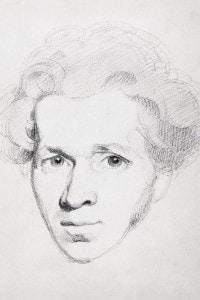 Ritratto di Søren Kierkegaard
