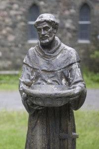 Statua raffigurante San Francesco d'Assisi