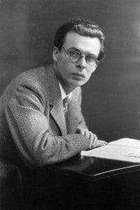 Aldous Huxley, scrittore britannico
