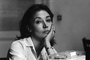 Oriana Fallaci fu la prima giornalista donna ad essere inviata al fronte come inviata speciale