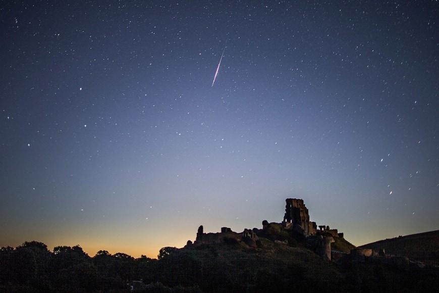 Un delle comete Perseidi