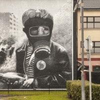 Murale in Irlanda del Nord