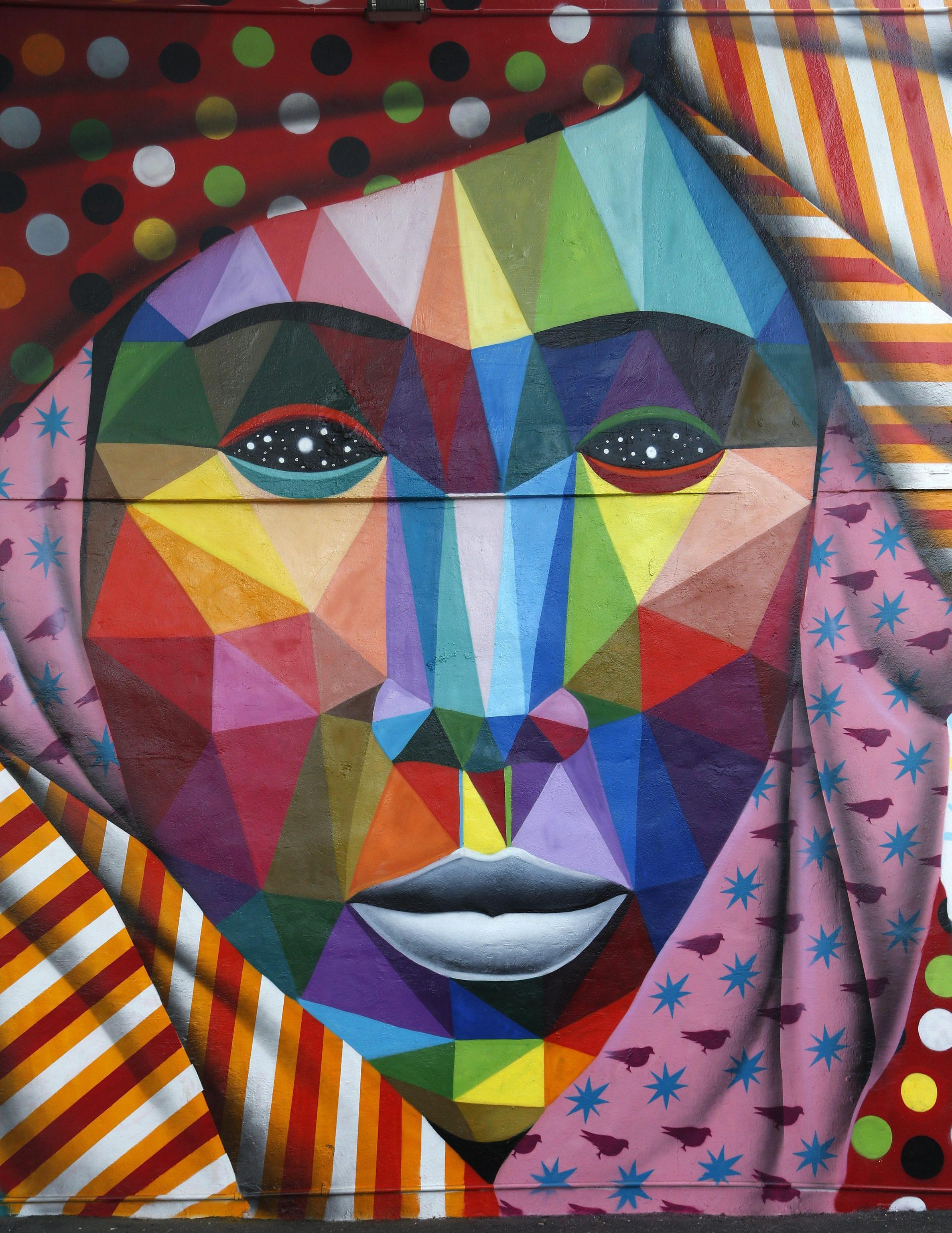 Murale di Okuda a Miami