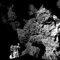 """La cometa vista dal lander """"Philae"""""""