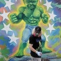 Ron English e il suo baby Hulk