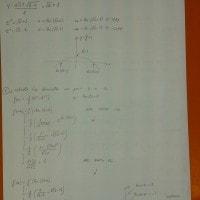 Foto seconda prova matematica 2017: soluzione problema 1 (parte 2)