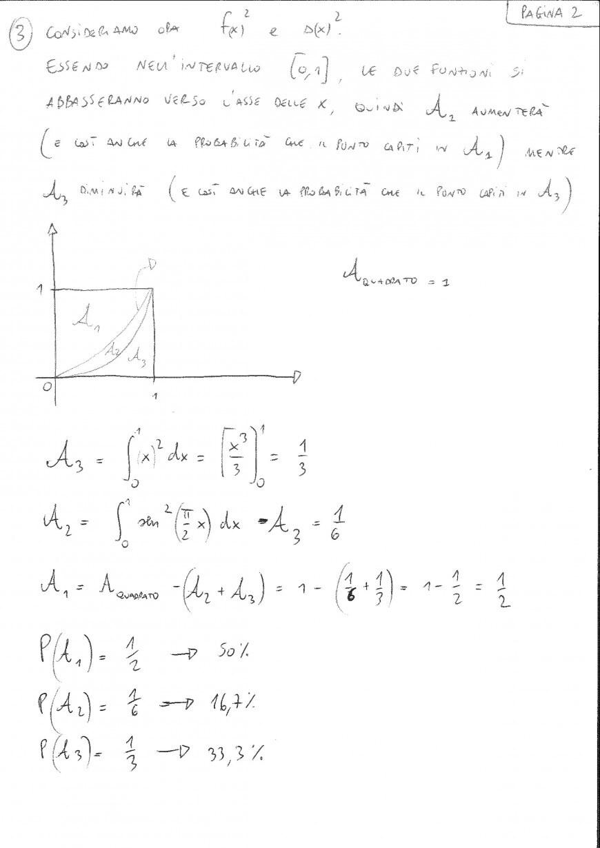 Foto seconda prova matematica 2017: soluzione problema 2 ...