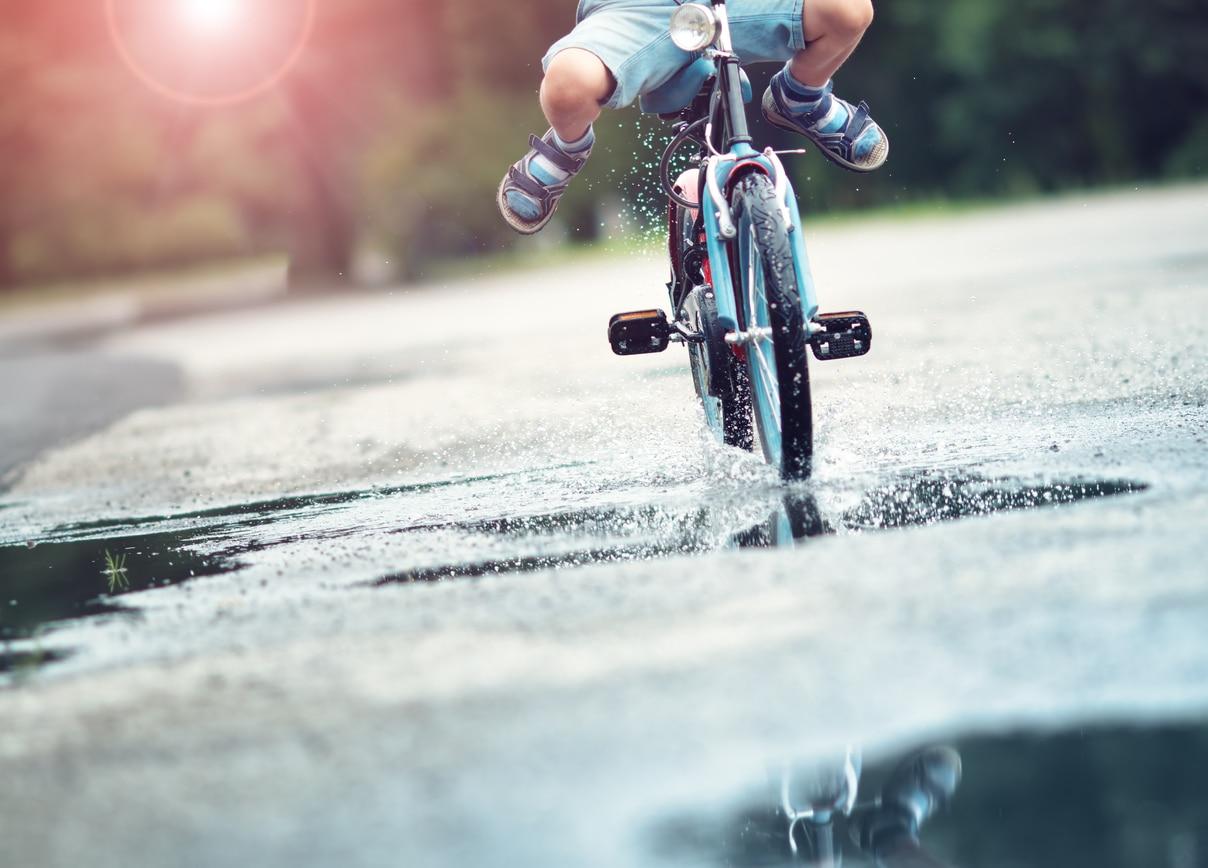 Bicicletta Con Le Ruote Quadrate Tormentone Social Seconda Prova