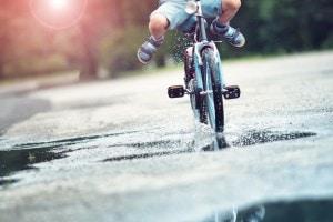 Seconda prova 2017: pedalare su una bicicletta a ruote quadrate