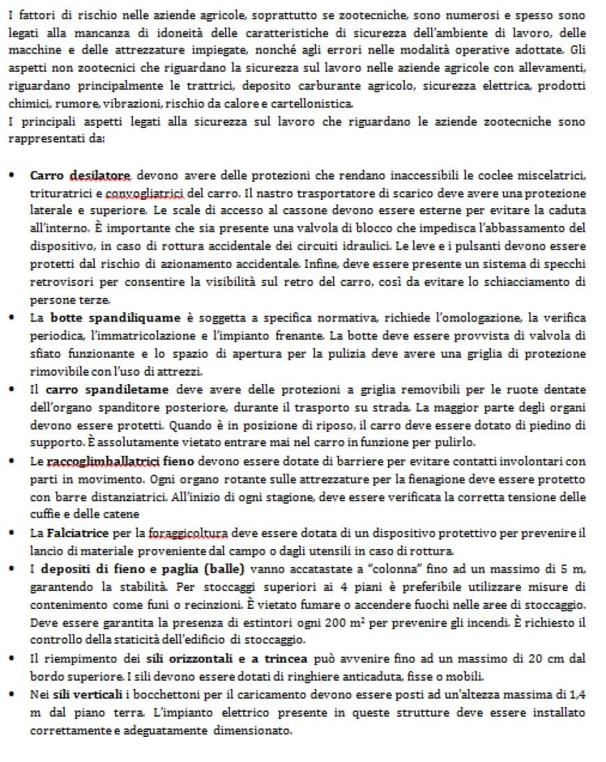 foto traccia svolta gestione dell'ambiente e del territorio agraria seconda prova maturità 2017