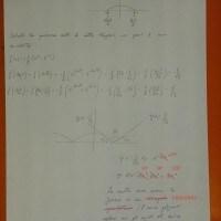Foto seconda prova matematica 2017: soluzione problema 1 (parte 4)