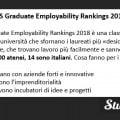 Le migliori università italiane che fanno trovare lavoro secondo il QS Graduate Employability Rankings 2018