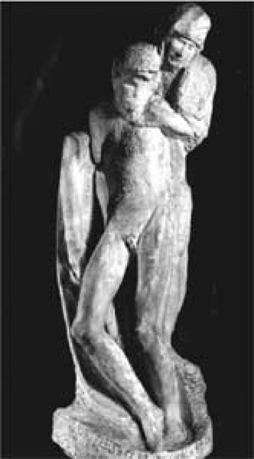 Qual è il nome dell'opera in figura e chi ne è l'autore?