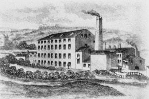 L'avvento delle fabbriche caratterizzò la Rivoluzione industriale