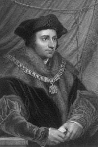 Tommaso Moro o Thomas More, umanista vissuto a cavallo del 1400 e 1500