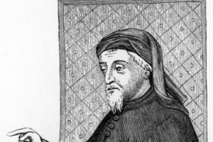 Geoffrey Chaucer, autore dei Racconti di Canterbury
