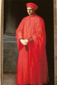 Francesco di Marco Datini in un ritratto di Alessandro Allori (1535-1607)