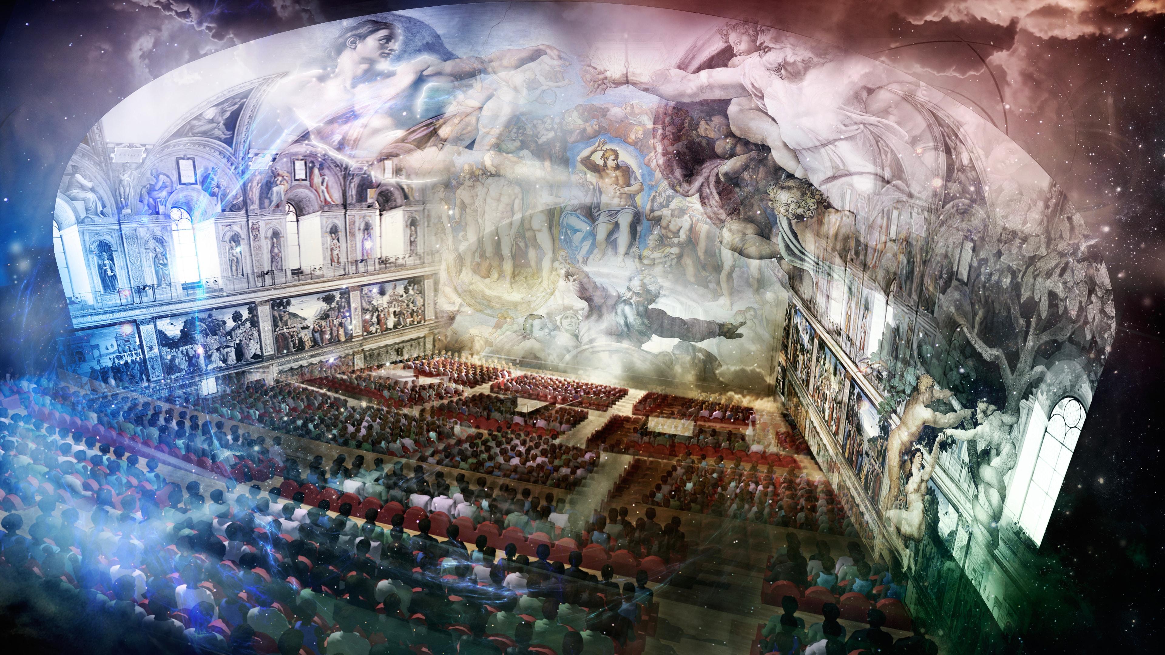 Giudizio Universale, lo show immersivo che fa riscoprire agli studenti la Cappella Sistina