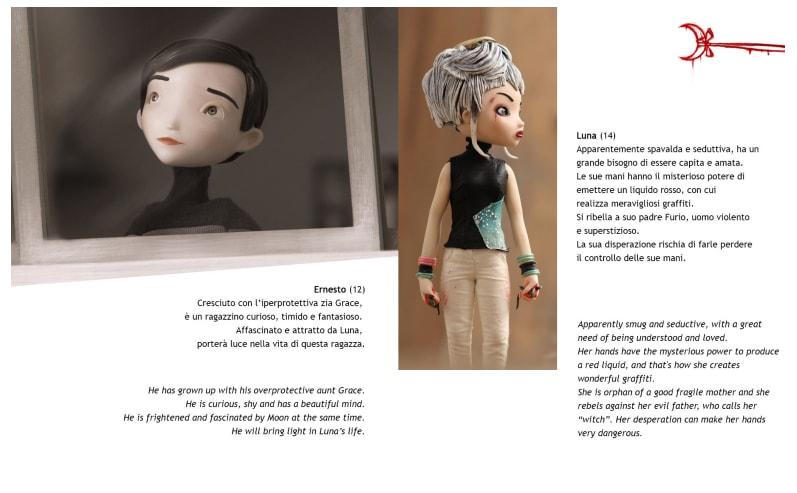 I protagonisti Luna ed Ernesto