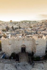 La città di Gerusalemme