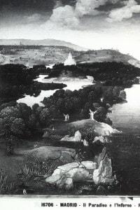 Dipinto raffigurante Caronte che traghetta un'anima, attraverso il fiume Stige, verso gli Inferi