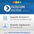 Iscrizioni on line 2018-2019