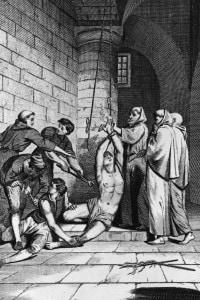 Le repressioni contro gli eretici sono diventate presto la base dell'opera della Santa Inquisizione, ufficialmente nata tra il 1179 e il 1184
