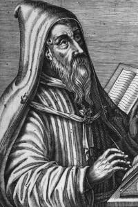 """Sant'Agostino, teologo, filosofo e """"dottore della chiesa"""""""