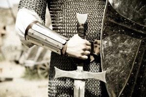 Il cavaliere inesistente di Italo Calvino fa parte della trilogia I nostri antenati