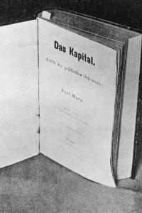 Frontespizio del Capitale di Kark Marx