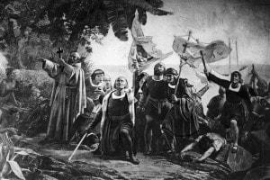 Cristoforo Colombo in America