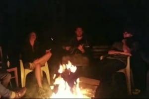 Una serata attorno al fuoco nel racconto di Benedetta, volontaria Lunaria