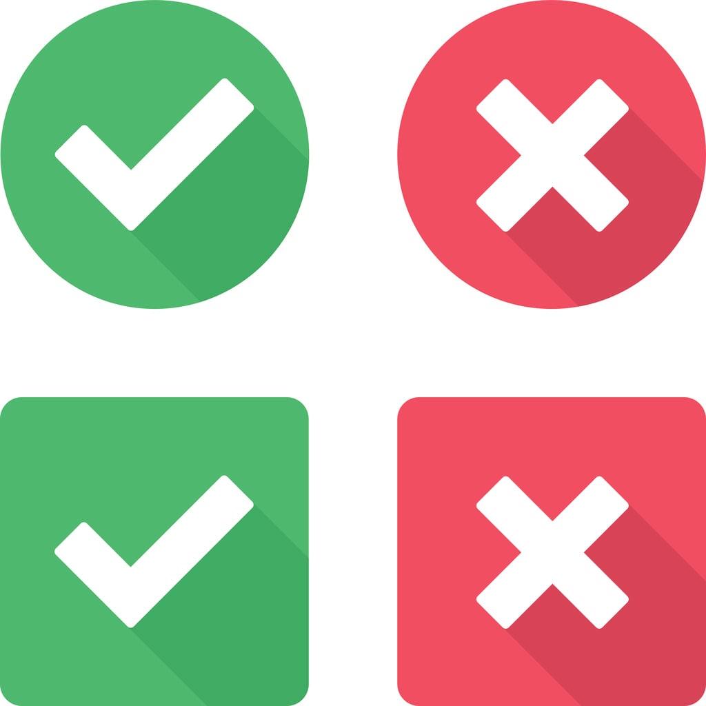 Come non sbagliare accento e apostrofo | Studenti.it X And Check Icon