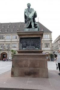Statua di Gutenberg a Strasburgo