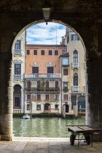 Scorcio del Canal Grande Venezia