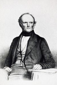Charles Lyell, l'autore del libro che Darwin lesse durante il suo viaggio