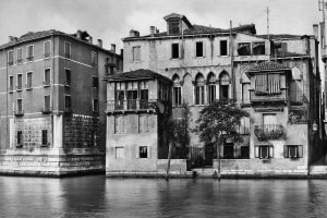 Facciata del palazzo Falier a Venezia