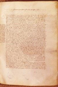 Parte del trattato della Pace di Lodi