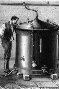 Pasteur osserva la fermentazione della birra