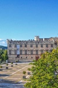 Parte del palazzo dei papi di Avignone