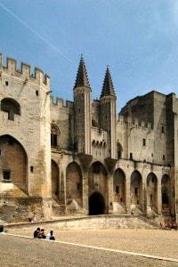 Palazzo dei papi ad Avignone