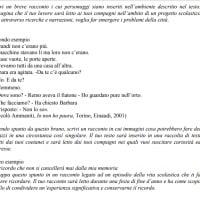 Secondo e terzo esempio del testo narrativo per l'esame di terza media