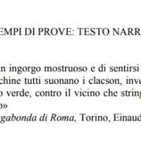Esempi del Miur per le tracce di italiano dell'esame di terza media 2018: il testo narrativo