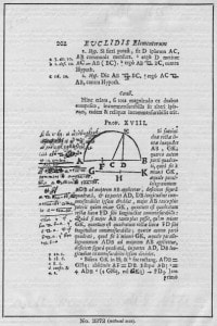 Appunti di Newton sugli Elementi di Euclide
