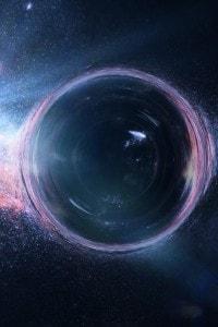 L'aspetto di un buco nero