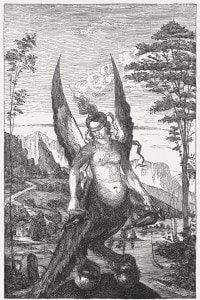 Arpia, figura mitologica