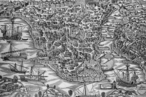 La città di Costantinopoli